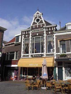 Een pittoresk pand aan de Markt in Vlaardingen.