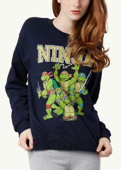 Ninja Turtles Sweatshirt   Get Graphic   rue21