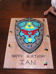 Zelda cake-- Taylor would love it