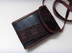 TOOLED LEATHER PURSE by cyclecosmetics on Etsy, $125.00