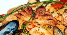 Tipical sea food dish