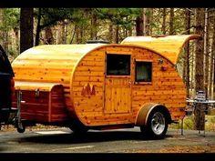 250 Tear Drop Trailers, DIY Homemade teardrop travel trailers, Great ...