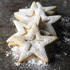 Our Lemony Star Sandwiches are soft in the center with golden brown crunch on the edges: http://www.bhg.com/christmas/cookies/christmas-cookie-ideas/?socsrc=bhgpin082614lemonystarsandwiches&page=2