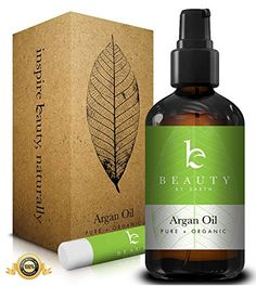 Beauty by Earth Organic Virigin Moroccan Argan Oil, 4oz - Includes Treatment Pump for Easy Dispensing Beauty by Earth http://www.amazon.com/dp/B00I134Y82/ref=cm_sw_r_pi_dp_DThcvb18058W9