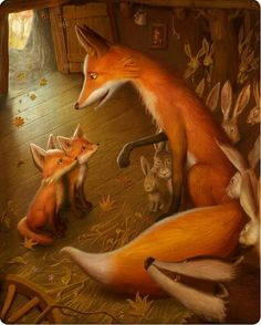 Story Time… (What did the Fox say…)