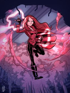 Scarlet Witch by OtisFrampton on @DeviantArt