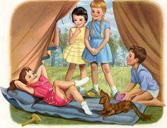 Martine fait du camping 5