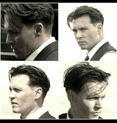 90s Haircuts, Haircuts For Men, Johnny Depp Public Enemies, Hair And Beard Styles, Curly Hair Styles, Johnny Depp Hairstyle, Trending Hairstyles For Men, Epic Hair, Asian Men Hairstyle
