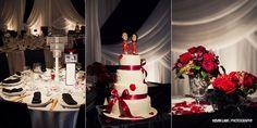 Lisa + Gerard Wedding.  www.kevinlamphoto.com   Cake: SugarTiers   Florist: Win's Flowers   Decor: Luxel Decor