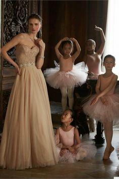 Fantasy Fashion Design: BHLDN presenta sus diseños de novias, inspirados en el Ballet