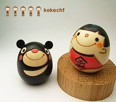 flown out from the grandson of Saburo kokechi ★ cute Kokeshi dolls, rabbit, picture books, such as Palm-sized cute Kokeshi Japan, filled with warmth and hand-Kokeshi ★ egg KOKESHI, Quintero, kintaro, kintarou and boy