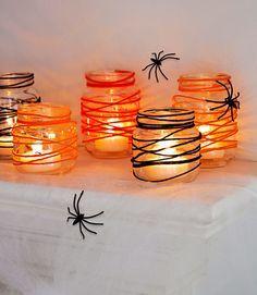 Как да си направите свещници за Хелоуин?   Az-jenata.bg