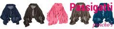Passigatti lamswollen poncho in 11 actuele kleuren! Bezoek de website.