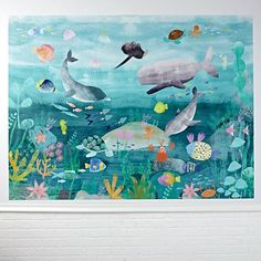 Under the Sea Mural Decal   The Land of Nod