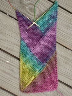 Triangles scarf method
