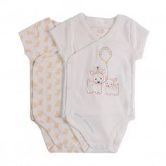 Set of 2 Birdie Baby Grows White  Stella McCartney
