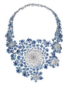 Julia - the Fractual Necklace By Mark Newsons for Boucheron from Fast Company, via Flickr