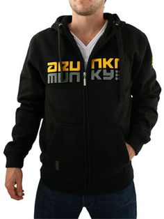 Drunknmunky Black 9 Dot Drop Zip Hood Drunknmunky 9 Dot Drop Zip Hood - Mens zip hoodie from Drunknmunky - Large embossed logo across the chest - Drawstring hood - Ribbed hem and cuffs - Branding on hem and sleeve - Product Code: DRU http://www.comparestoreprices.co.uk/mens-clothes/drunknmunky-black-9-dot-drop-zip-hood.asp