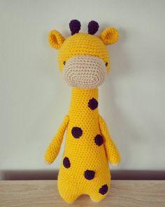 Giraffe by creanka1. Crochet pattern by Little Bear Crochets: www.littlebearcrochets.com ❤️ #littlebearcrochets #amigurumi
