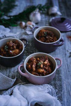 Auténtica receta de patatas revolconas