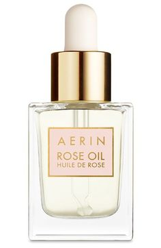Free shipping and returns on AERIN Beauty Rose Oil at Nordstrom.com. What it is: An oil that instantly recharges your skin and hair.Who it's for: Anyone who desires smooth, lustrous hair or a healthy, hydrated glow.What it does: Its formula is filled with nourishing rose oils, vitamin E and antioxidants to nourish your skin and hair.How to use: Apply to slightly damp skin on your face, neck and décolletage, or place a few drops into the palm of your hand and spread lightly onto towel-dried…