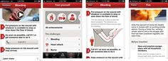 """This app could help save you life. Everyone needs the Red Cross first app on their phone. Download it by searching """"Red Cross"""" in iTunes or the Android store."""