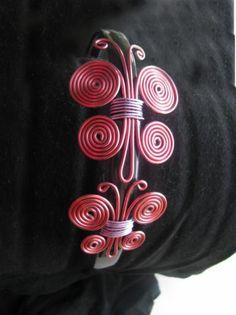 2 mariposas rosas diadema  alambre,diadema de pasta con dien alambrismo