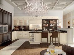 Kitchen Pantheon Collection by Cucine Lube from archi products. Shop more products from archi products on Wanelo. Solid Wood Kitchen Cabinets, Timber Kitchen, Solid Wood Kitchens, Kitchen Cabinet Doors, Filigranes Design, Interior Design, Shaker Doors, Style Rustique, Cabinet Making