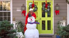 Craft a snowman and Win A Disney Cruise for four, including airfare. http://unfrozenwinter.com
