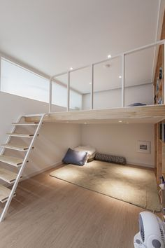 아이파크 40평대 아파트 인테리어 - 디자인투플라이 Small Space Design, Small House Design, Small Spaces, Small Apartment Design, Small Room Design Bedroom, Home Room Design, Loft Interior Design, Loft Design, Small Loft Apartments