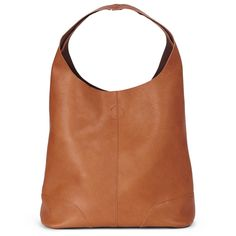 Leather bag with clean lines