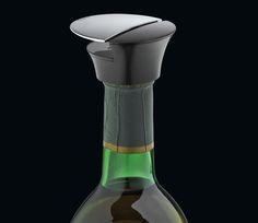 Cilio Weinflaschenverschluss Switch, mit praktischem Hebelverschluß zum luftdichten und tropfsicheren Verschließen von weinflaschen