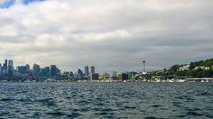 Boating on Lake Washington   #summer #washington #lake #water #travel #skyline #spaceneedle #seattle