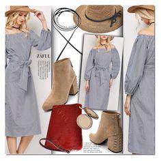 """Shoulder dress"" by duma-duma ❤ liked on Polyvore featuring Senso and Charlotte Tilbury"
