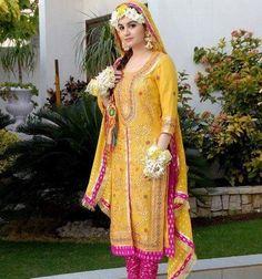 Latest Multi Shaded Bridal Mehndi Winter Suits For Pakistani & Indian Women Wedding Dresses Men Indian, Bridal Mehndi Dresses, Pakistani Wedding Outfits, Bridal Dress Design, Indian Dresses, Indian Suits, Punjabi Suits, Pakistani Mehndi Dress, Pakistani Bridal Dresses