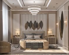 Luxury Bedroom Design, Home Room Design, Master Bedroom Design, Bed Headboard Design, Bed Design, Office Interior Design, Bathroom Interior Design, Bedroom Setup, Classic Interior