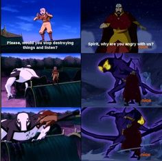 The Legend of Korra/ Avatar the Last Airbender: like father like son Only Aang.and apparently Tenzin too. Avatar Aang, Team Avatar, Avatar The Last Airbender, Legend Of Aang, Avatar Series, Iroh, Fire Nation, Zuko, Ouran Host Club