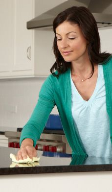 10 Post-Holiday Home Cleaning Tips - Here's how to get your house sparking for the new year.