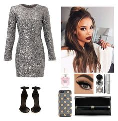 """""""New Years Eve"""" by natalianunez-1 ❤ liked on Polyvore featuring Slate & Willow, Isabel Marant, Diane Von Furstenberg, Kate Spade, Bobbi Brown Cosmetics and Victoria's Secret"""