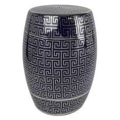 SagebrookHome Ceramic Garden Stool