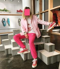 Full Pink Outfit X Tyler the Creator Converse GOLF le FLEUR