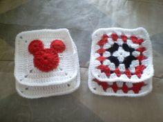Hidden Mickey!!!! | granny square | Pinterest