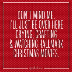 I love Hallmark Christmas movies!