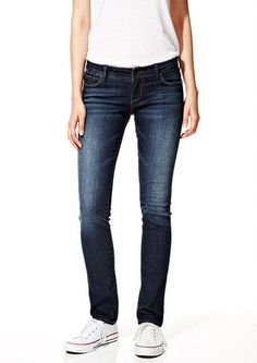 Taylor Low-Rise Skinny Jeans in Waterspout - Taylor - Jeans - dELiA*s