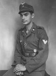 """""""Half-Jew"""" Horst Geitner was awarded both the Iron Cross Second Class and the Silver Wound Badge."""