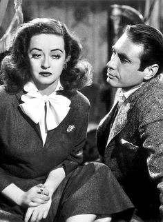 Bette Davis and Gary Merrill in All About Eve (1950)