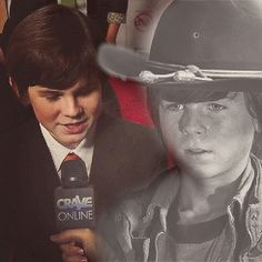 Carl Grimes - Chandler Riggs