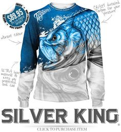 FISHBUM Fishing Clothing Presents – Silver King Tarpon Fishing Jersey – Fishbum Outfitters