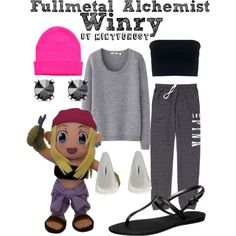"""Fullmetal Alchemist: Winry"" by mintyghost on Polyvore"