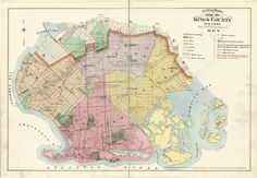 Outline & Index Map of Kings County, New York | Library of Congress
